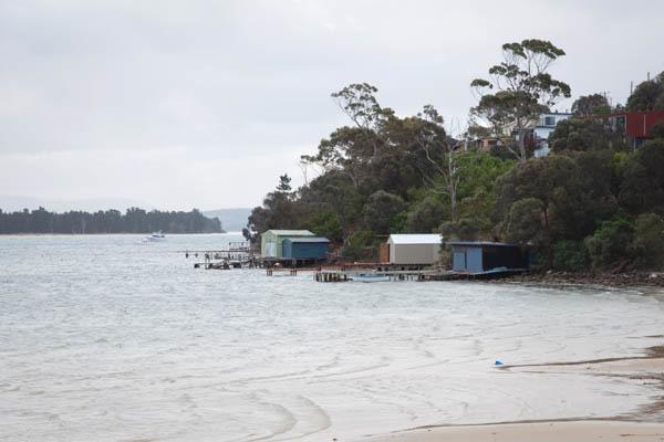 Sorell vue sur Pitt Water en Tasmanie