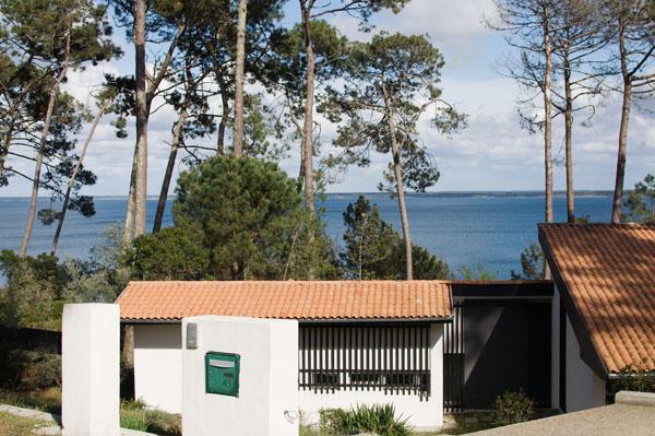 Villas sur le lac de Biscarosse