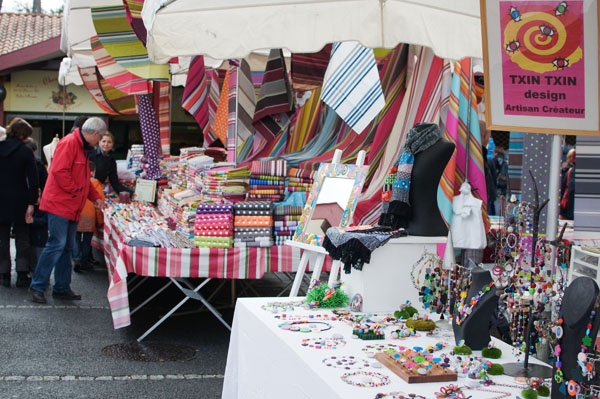 Le marché du dimanche à Hossegor