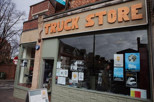 Truck store disquaire de Oxford