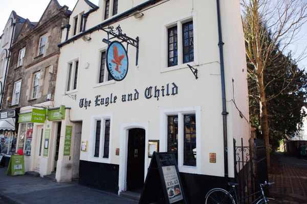 The Eagle and Child - 49 Saint Giles à Oxford