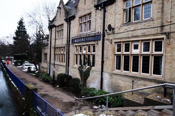 Le long de la tamise à Oxford