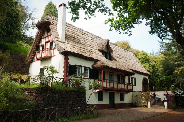 Maison typique de Madère