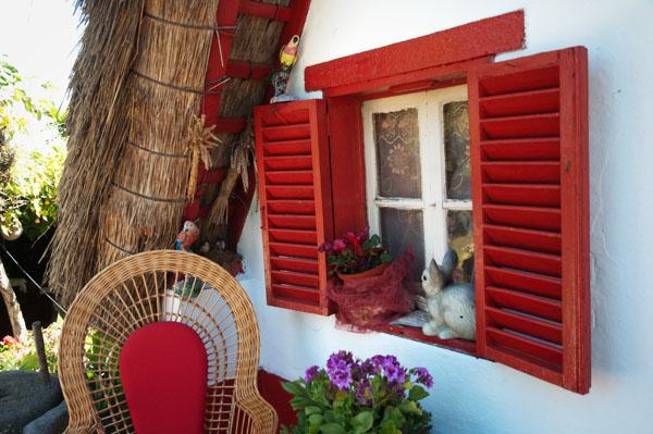 Maison typique de Manuel à Santana