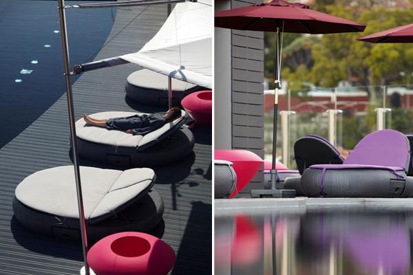 The Vine Hotel - Piscine en terrasse