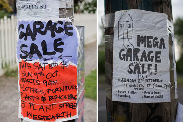 Garage Sale Melbourne