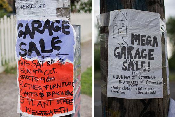 Garage Sale Melbourne