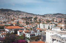 Survol de Funchal en téléphérique