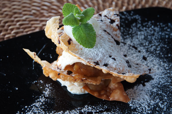 Dessert du Pé Na Agua Porto Santo