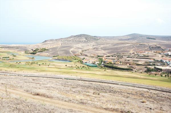 Vue sur le golf de Porto Santo