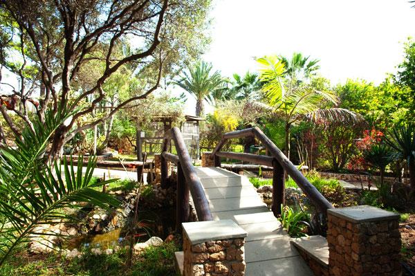 Mini zoo botanique Quinta das Palmeiras