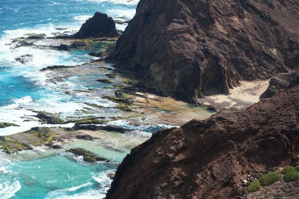 Piscine d'eau de mer à Ponta da Varadouro Porto Santo