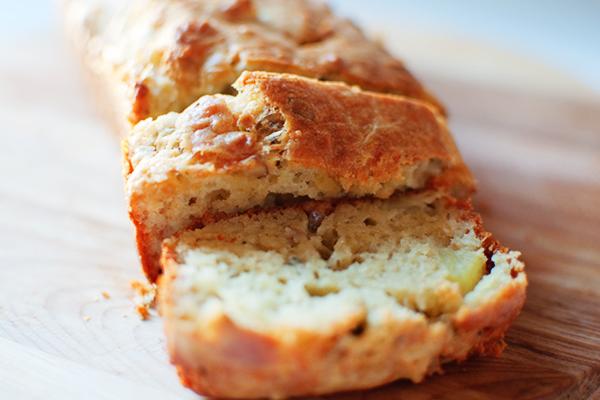 cake roquefort pomme noix