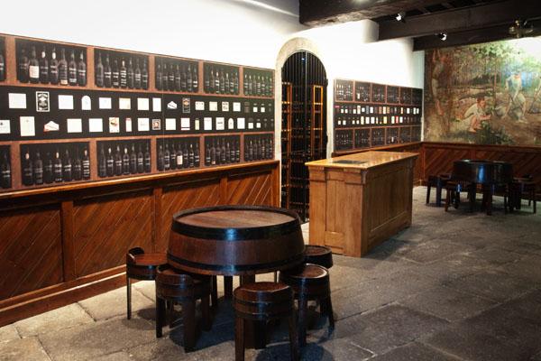 Dégustation du vin de Madère Blandy'sà Funchal