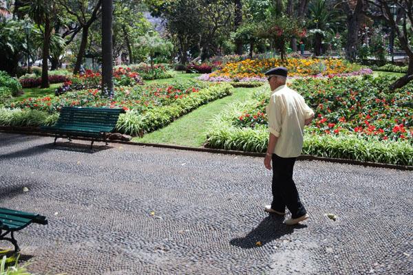 Un parc à Funchal Madère