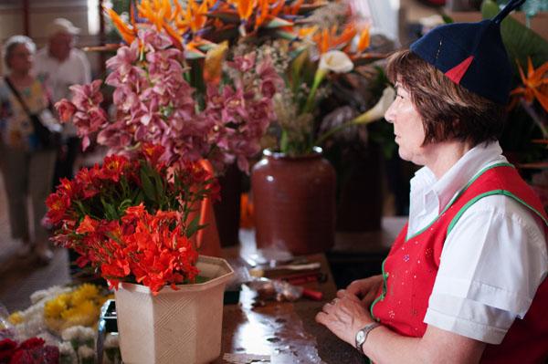 Marche de Funchal paradis des fleurs
