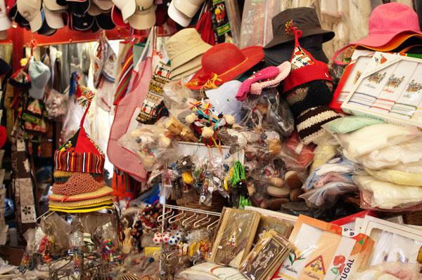 Marché de Funchal produits typiques du Portugal