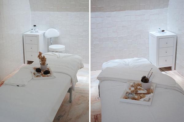 Les cabines de soins du Spa de l'Hôtel Porto Santo