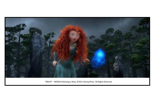Merida dans Rebelle Disney Pixar