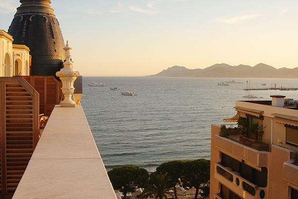 Séjour au Carlton de Cannes en 2008