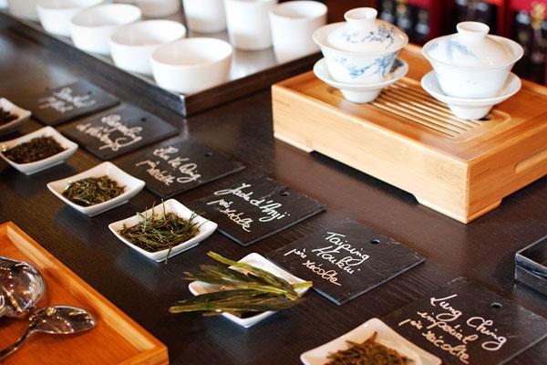 Assortiment de thés nature