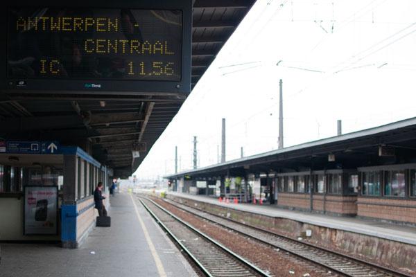Train Bruxelles à Anvers