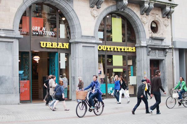 Urban Outfitters à Anvers