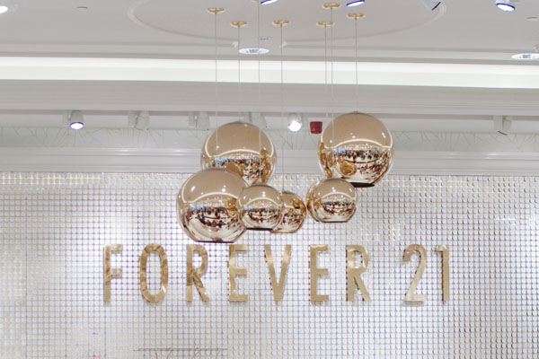 Forever 21 à Anvers