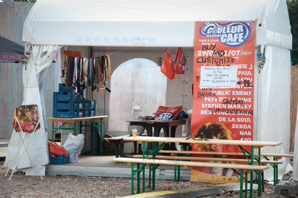 Couleur Café - Atelier recyclage affiches du festival en sac
