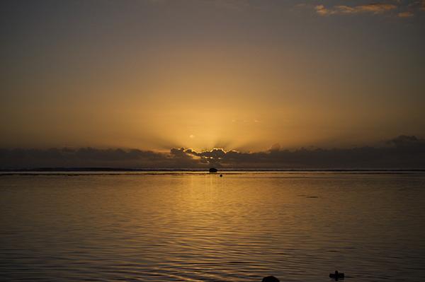Le soleil de la Réunion en 2010