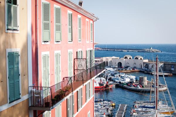 Le port de Bastia en Corse en 2012