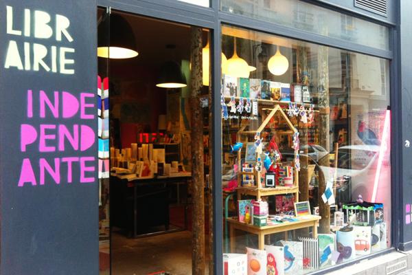 I love my Blender bookshop Paris
