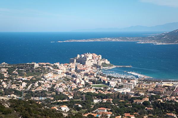 La citadelle de Calvi en Corse en 2012