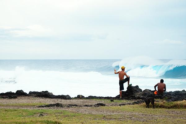 La Réunion sous l'effet du cyclone Gaël en 2009