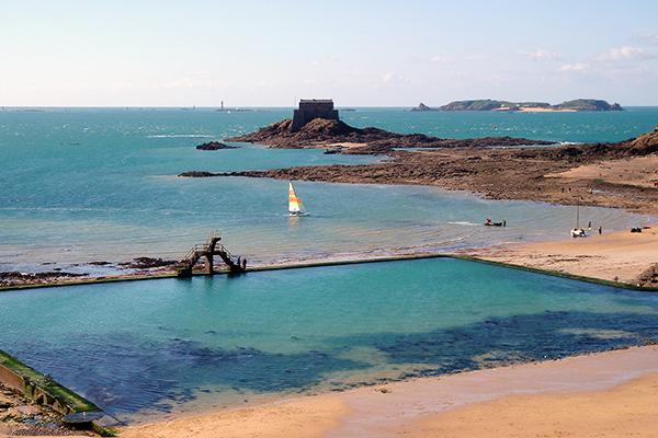 découverte de St Malo en 2005