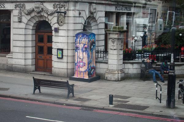 Projet BT artbox Londres