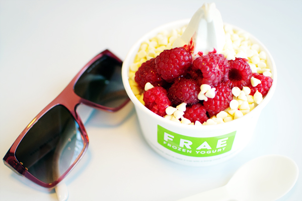 Frae frozen yogurt Londres