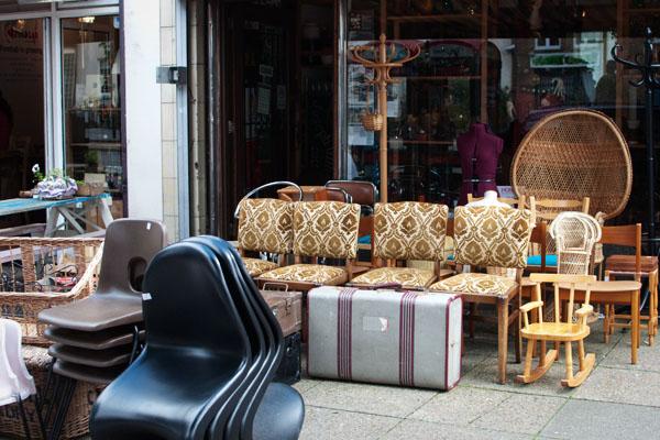 Chiner du vintage à Londres chez Past Caring Angel