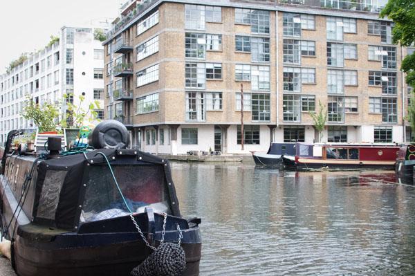 Les canaux à Angel - Londres