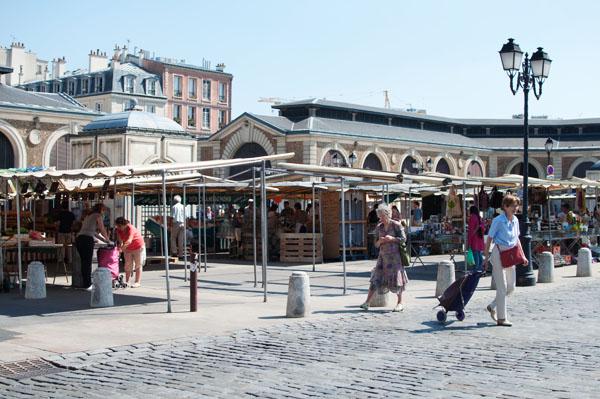 Le marché de Versailles