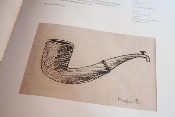 Ceci n'est pas une pipe - Magritte