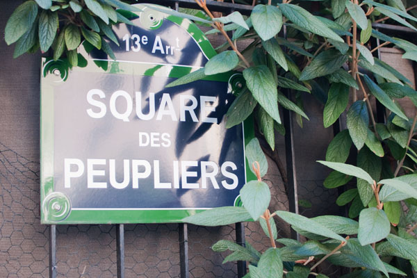 Square des peupliers - Paris 13