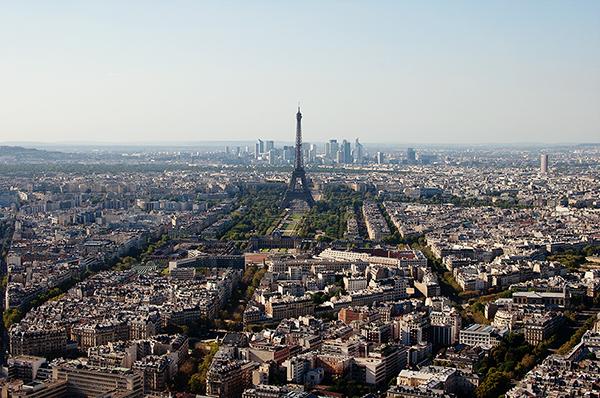 Panorama depuis Le Ciel de Paris