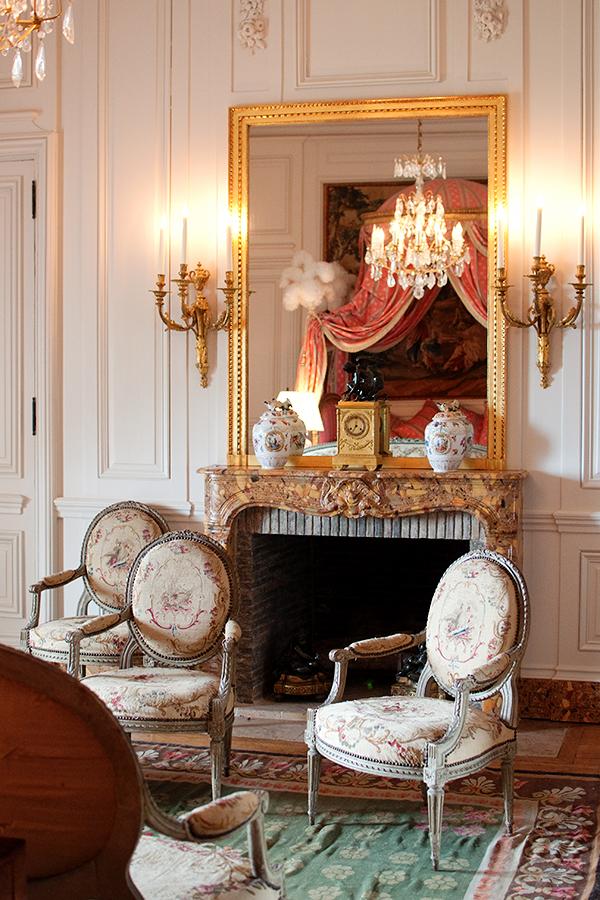 Un salon du Chateau de Hautefort