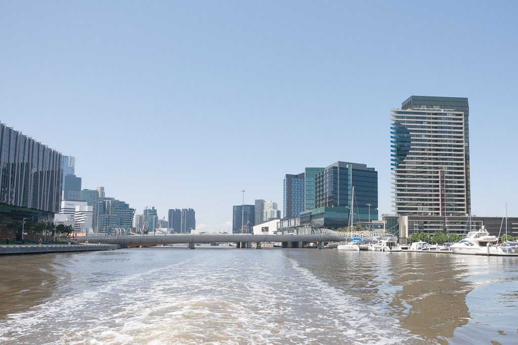 Ferry de Melbourne CBD à Williamstown