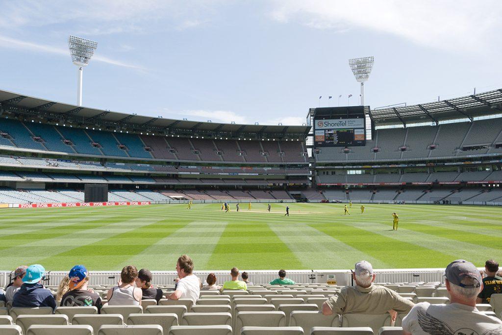 Match de cricket au MGC Melbourne