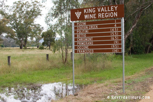 King Valley melbourne Australie