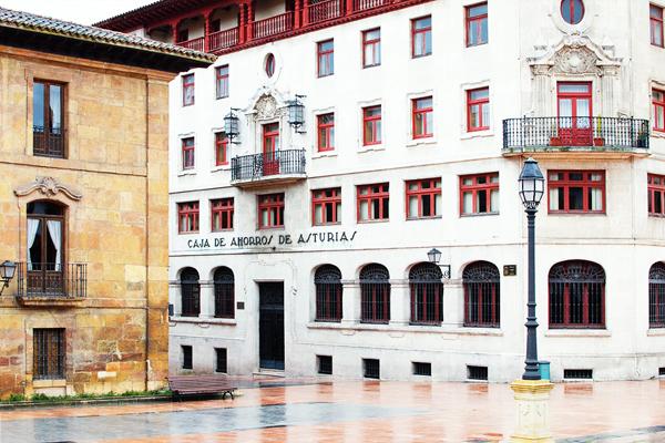 Maisons colorées Oviedo