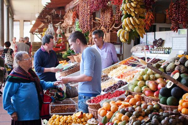 Mercado dos Lavadores Funchal