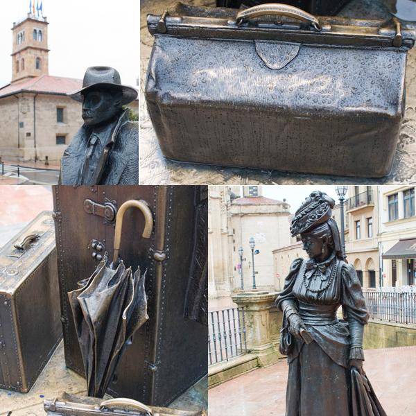 Statues à Oviedo